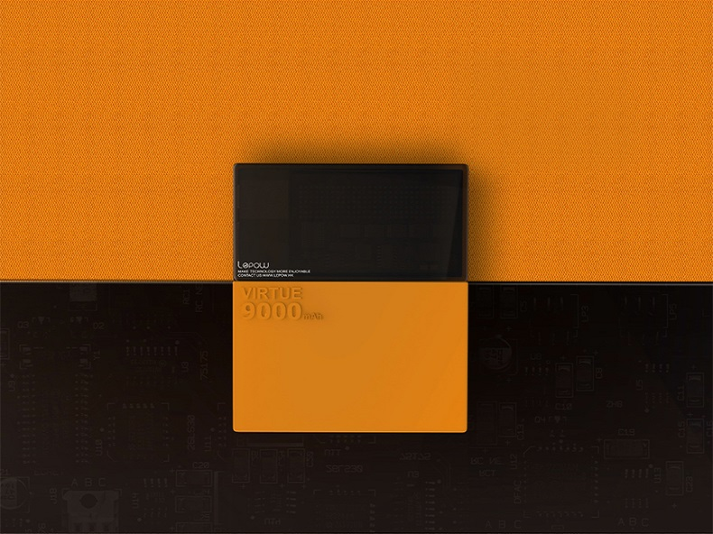 lepow virtue 9000mah - orange